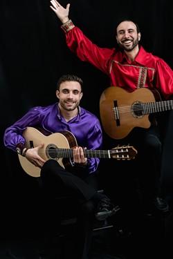 Sasha (left) and Vadim Kolpakov (PhotochemistryByLuba)
