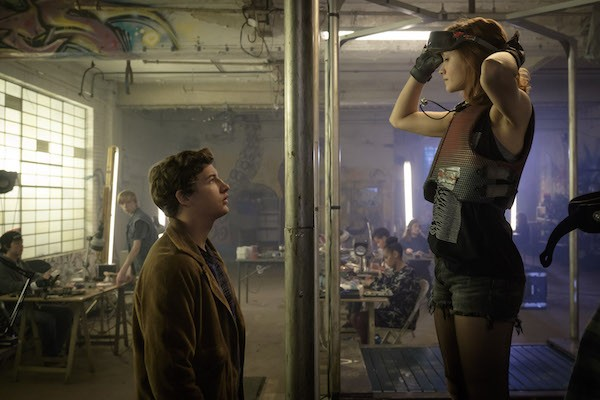 Tye Sheridan and Olivia Cooke in Ready Player One (Photo: Warner Bros.)