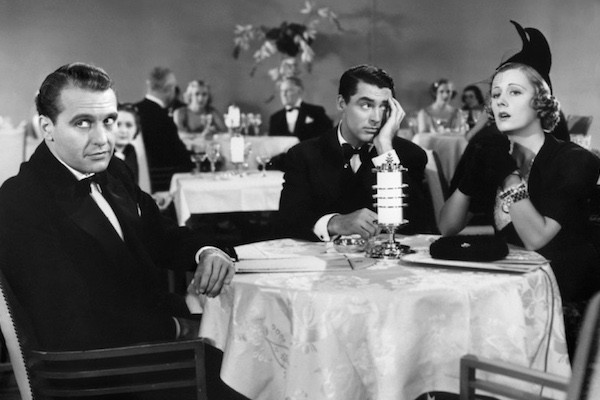 Ralph Bellamy, Cary Grant and Irene Dunne in The Awful Truth (Photo: Criterion)