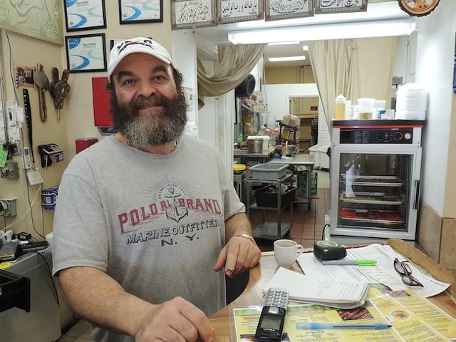 Izzat Freitekh, owner of La Shish Kabob,