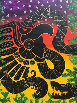 """""""Neither the Eagle Nor the Serpect Respects Borders"""" by Zuleyma Castrejon Salinas"""