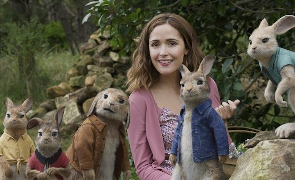 Rose Byrne in Peter Rabbit (Photo: Columbia)
