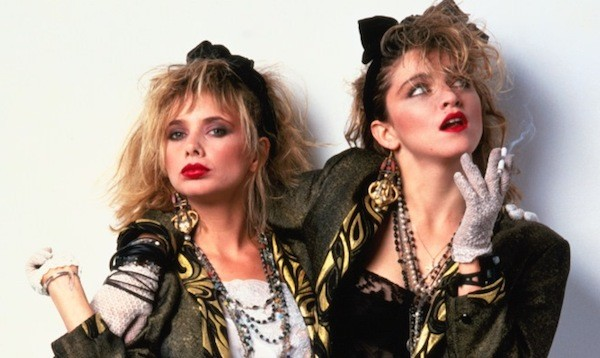 Rosanna Arquette and Madonna in Desperately Seeking Susan (Photo: Orion)