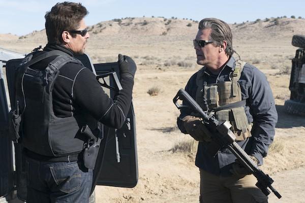 Benicio Del Toro and Josh Brolin in Sicario: Day of the Soldado (Photo: Columbia)
