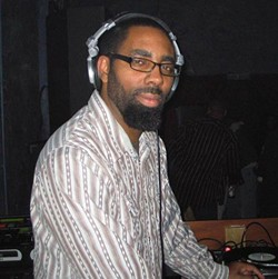 Smitty spins at Fire & Ice (now Snug Harbor) in 2008.