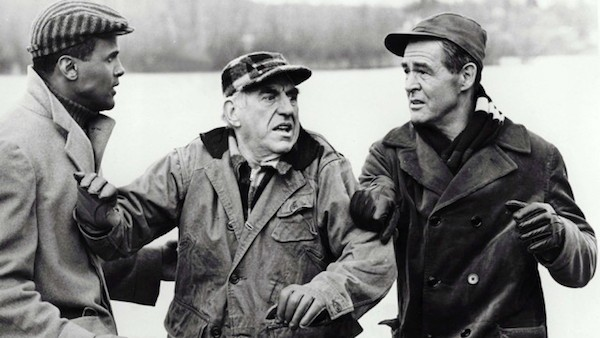 Harry Belafonte, Ed Begley and Robert Ryan in Odds Against Tomorrow (Photo: Olive Films & MGM)