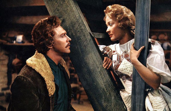 Howard Keel and Jane Powell in Seven Brides for Seven Brothers (Photo: Warner)
