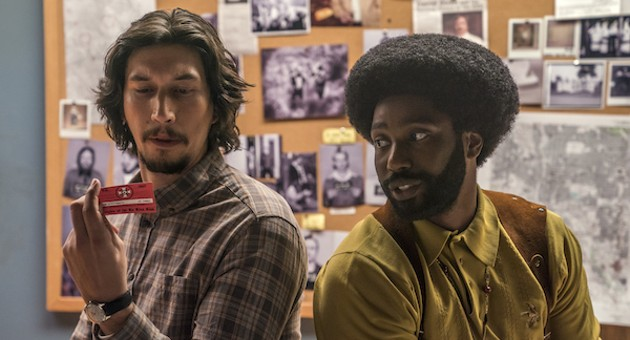 <i>BlacKkKlansman</i>: Writing history with lightning