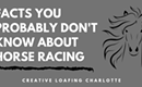 Some Interesting Facts About Horse Racing