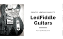 Veteran-Owned LedFiddle Guitars seeks to bring joy through music