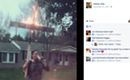 Scowl Brow Singer Robby Hale Burns Cross, Posts Pic to Facebook