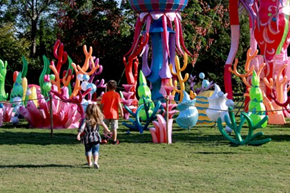 Charlotte's Chinese Lantern Festival kicks off to multicolored start