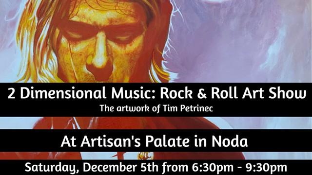 Rock & Roll Art Show
