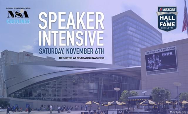 NSA Carolinas - Speaker Intensive