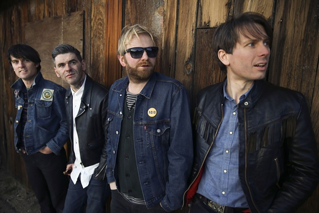 Franz Ferdinand. Photo by Andy Knowles.