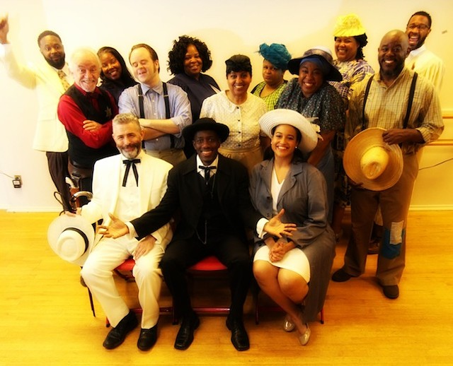 The cast of Purlie Victorious. (Photo courtesy of BNS Productions)