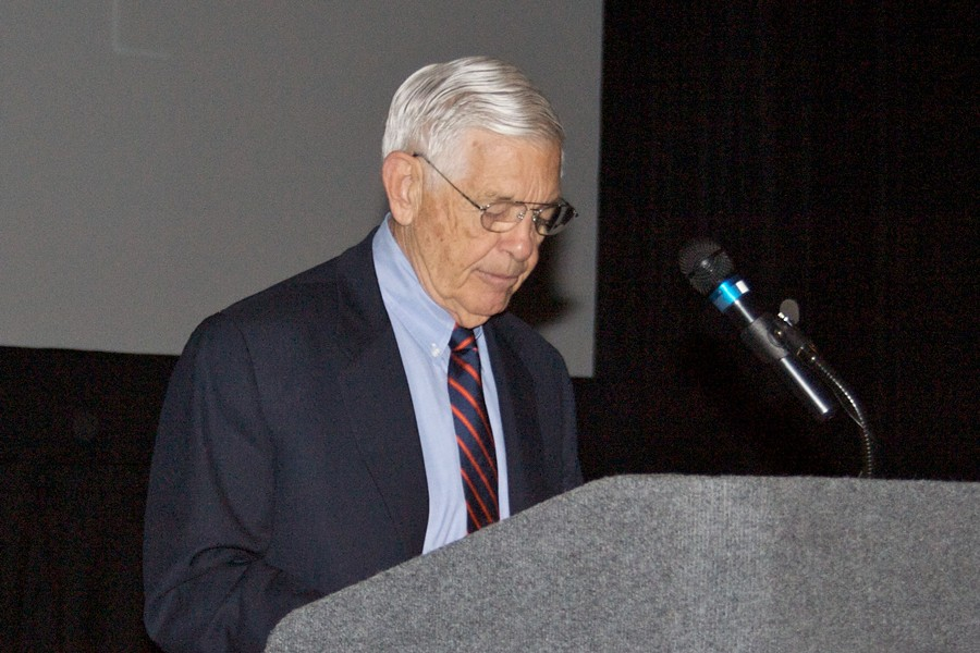 Hugh McColl (Photo by Justin Ruckman)