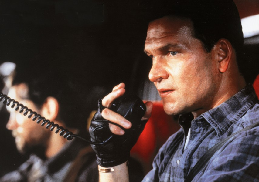 Patrick Swayze in Black Dog (Universal)