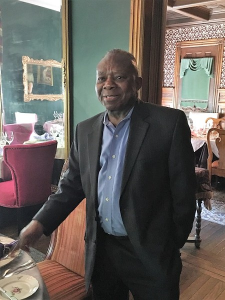 Anthony Wesley has been working at the McNinch House Restaurant for 16 years.