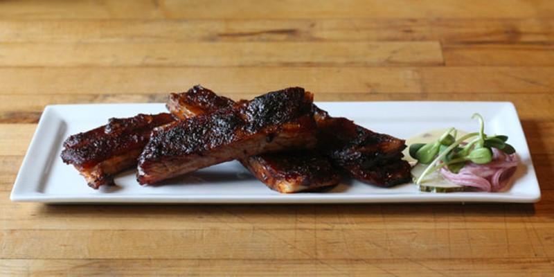 Eat This: Border springs lamb ribs at Bonterra