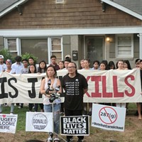 Community Rallies in Support of Couple Targeted by Racist Ranter