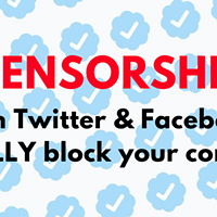 SHADOW BANNING – Social Media's Blatant Suppression of Conservative Views