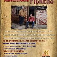 AMERICAN PICKERS to Film in North Carolina