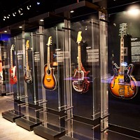 Guitar exhibit at Discovery Place strums through time