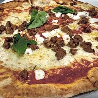 The Toscano pizza from Alino Pizzeria.