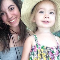 Maegan Severt with her daughter, Lily, after Maegan began the recovery process from her heroin addiction.