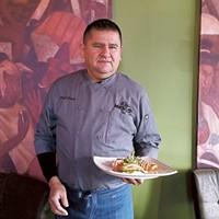 Chef Raul Ortegon at Mestizo (Photo by Anita Overcash)