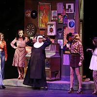 Sister Act runs through July 23 at CPCC's Halton Theater. (Photo by Chris Record)