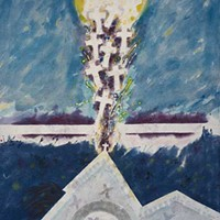 Artist Leo Twiggs tells the story of the Charleston church massacre through batik