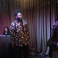 WATCH: Rapper Black Linen Premieres New Album, Singer Darian La Sparrow Stuns Crowd Monday at Petra's