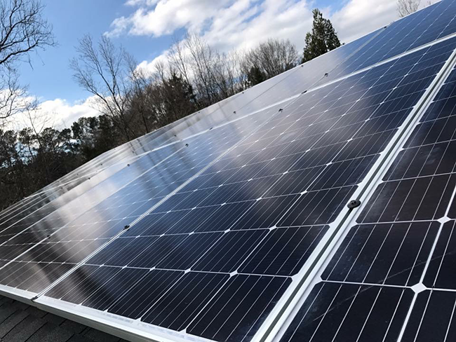 Rebates from Duke Energy have made solar more attractive, but tariff from Trump could threaten growth.
