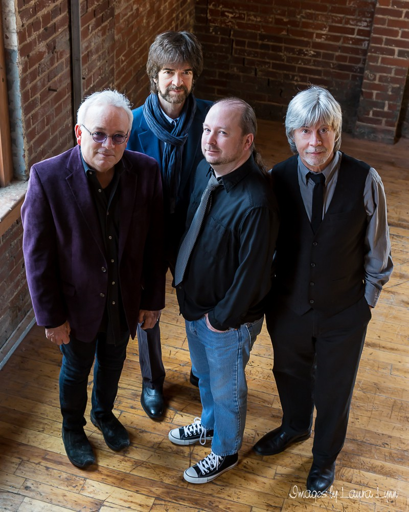 The Spongetones are (from left) Jamie Hoover, Pat Walters, Chris Garges and Steve Stoekel (Photos by Laura Tinnel)