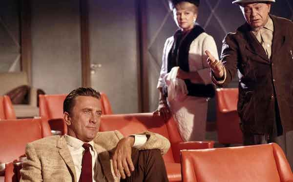Kirk Douglas, Claire Trevor and Edward G. Robinson in 2 Weeks in Another Town (Photo: Warner)