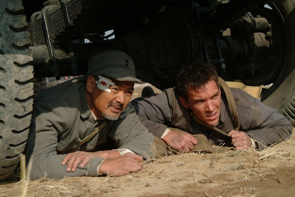 Chow Yun-Fat and Jonathan Rhys Meyers in The Children of Huang Shi (Photo: Twilight Time)