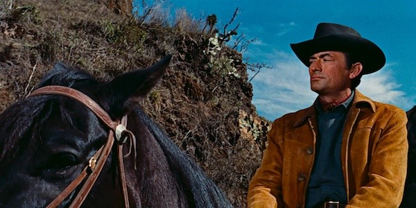 Gregory Peck in The Bravados (Photo: Twilight Time)