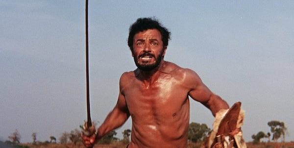 Cornel Wilde in The Naked Prey (Photo: Criterion)
