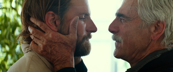 Bradley Cooper and Sam Elliott in A Star Is Born (Photo: Warner)