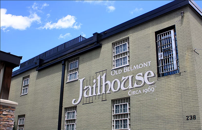 The Jailhouse in Belmont (Photo courtesy of Jailhouse)