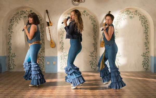 Jessica Keenan Wynn, Lily James and Alexa Davies in Mamma Mia! Here We Go Again (Photo: Universal)
