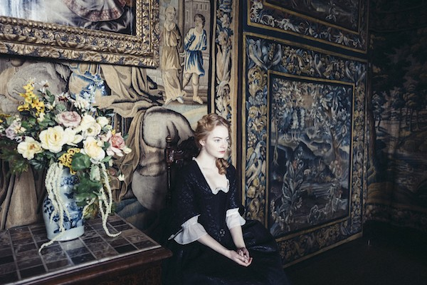 Emma Stone in The Favourite - FOX SEARCHLIGHT