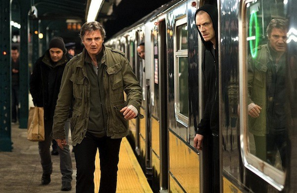 Liam Neeson and Joel Kinnaman in Run All Night (Photo: Warner Bros.)