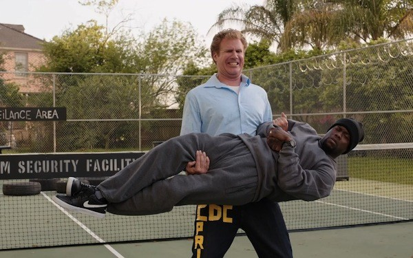 Will Ferrell and Kevin Hart in Get Hard (Photo: Warner Bros.)