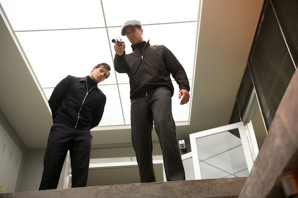 Henry Cavill (left) and Armie Hammer in The Man from U.N.C.L.E. (Photo: Warner)