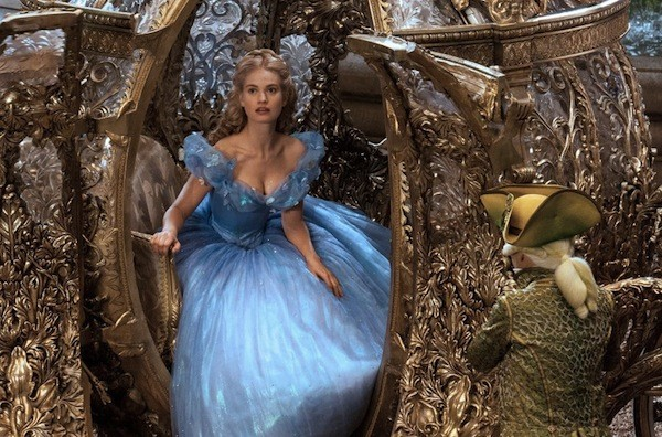 Lily James in Cinderella (Photo: Disney)