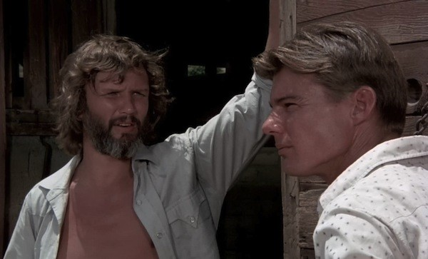Kris Kristofferson and Jan-Michael Vincent in Vigilante Force (Photo: Kino)