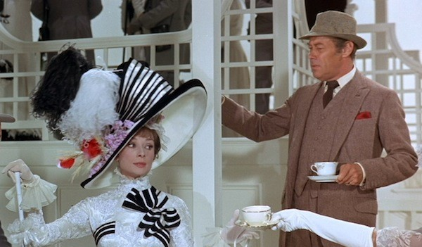 Audrey Hepburn and Rex Harrison in My Fair Lady (Photo: Paramount)